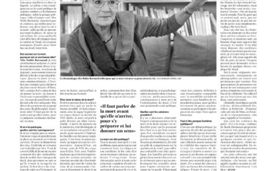 Article de journal paru dans Le Courrier