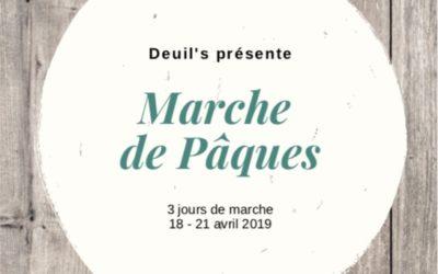 Marche de Pâques – 18 au 21 avril 2019